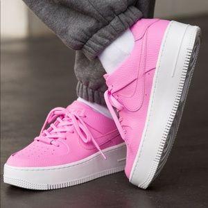 NWT🌸 Rare Nike Air Force 1 Sage Pink 5W